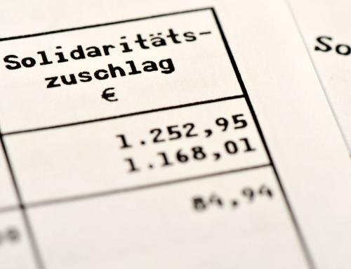 """Für rund 90 % der Steuerzahler ist der """"Soli"""" Geschichte"""